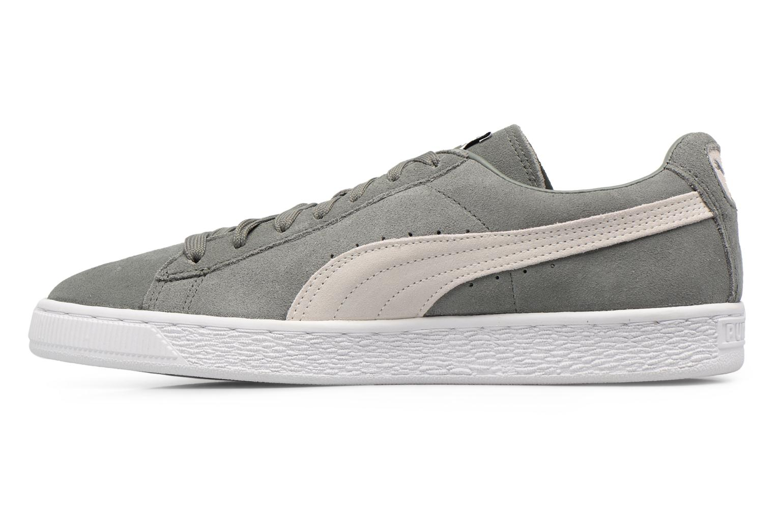 Suede Classic + Agave Green