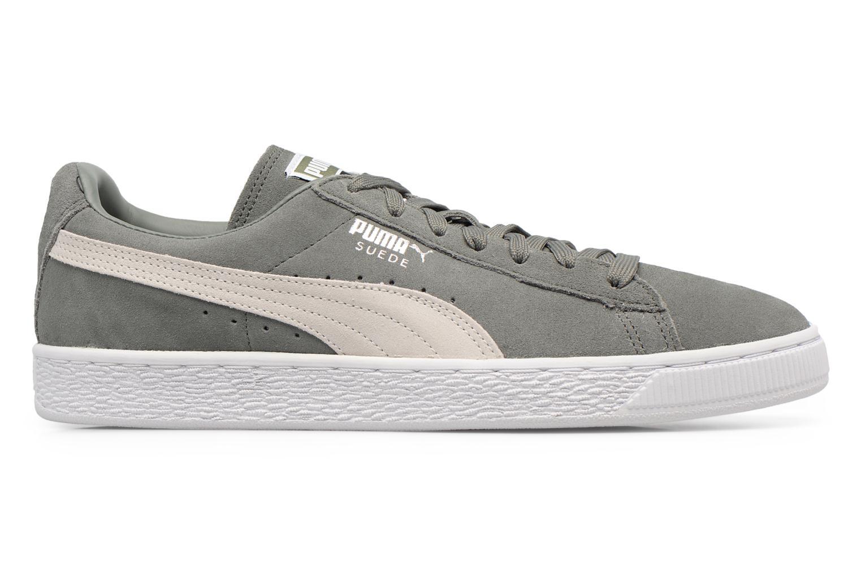 Sneaker Puma Suede Classic + grau ansicht von hinten