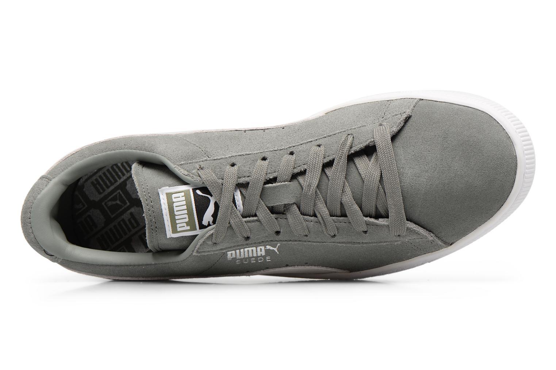 Sneaker Puma Suede Classic + grau ansicht von links
