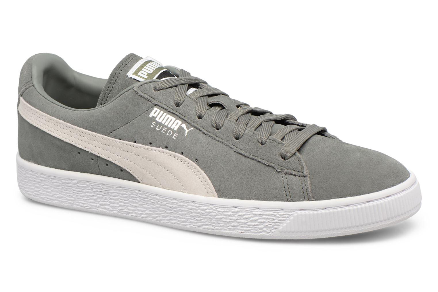 Trainers Puma Suede Classic + Grey detailed view/ Pair view