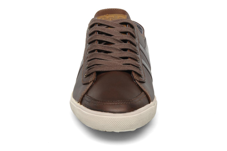 Sneaker Gola Quota premium m braun schuhe getragen