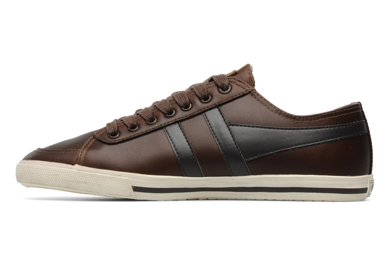 Sneakers Gola Quota premium m Bruin voorkant