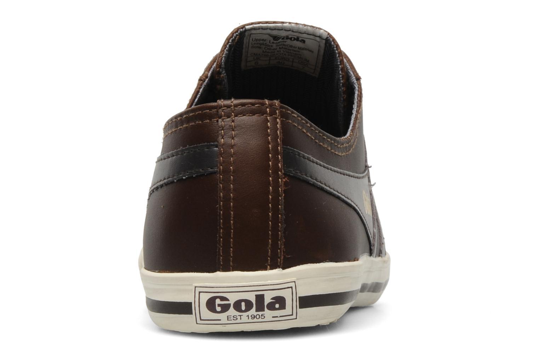 Sneaker Gola Quota premium m braun ansicht von rechts