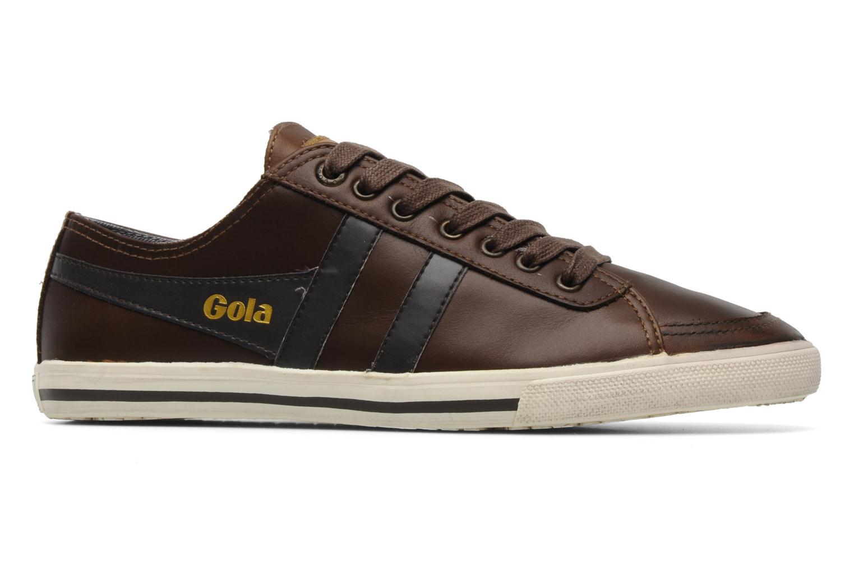 Sneaker Gola Quota premium m braun ansicht von hinten