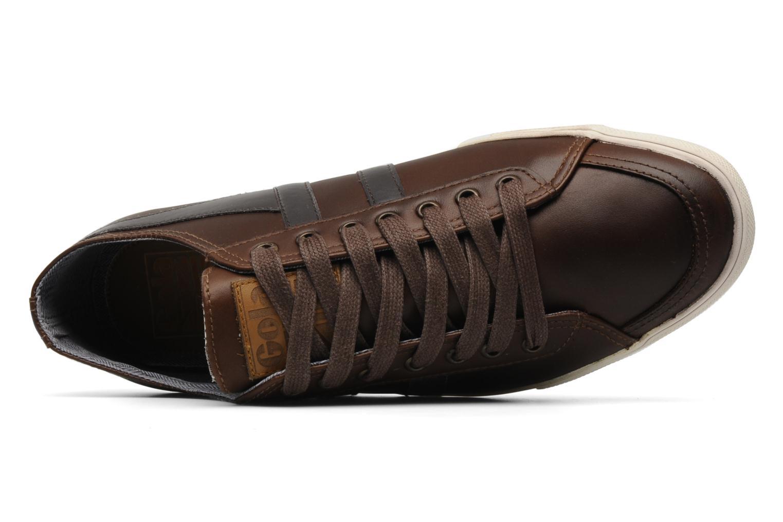 Sneaker Gola Quota premium m braun ansicht von links