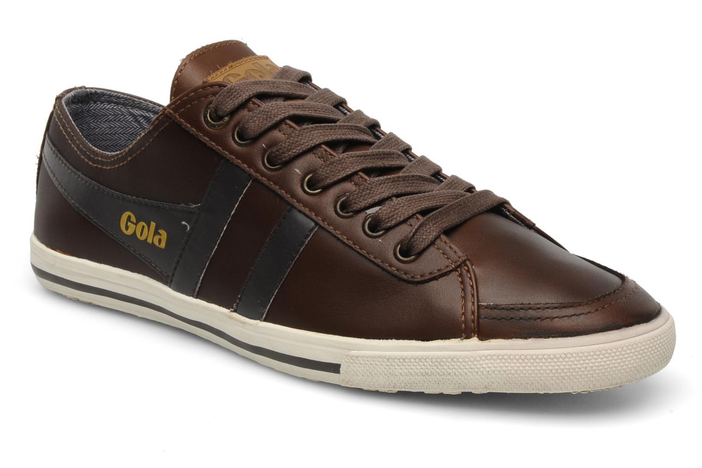 Sneakers Gola Quota premium m Bruin detail