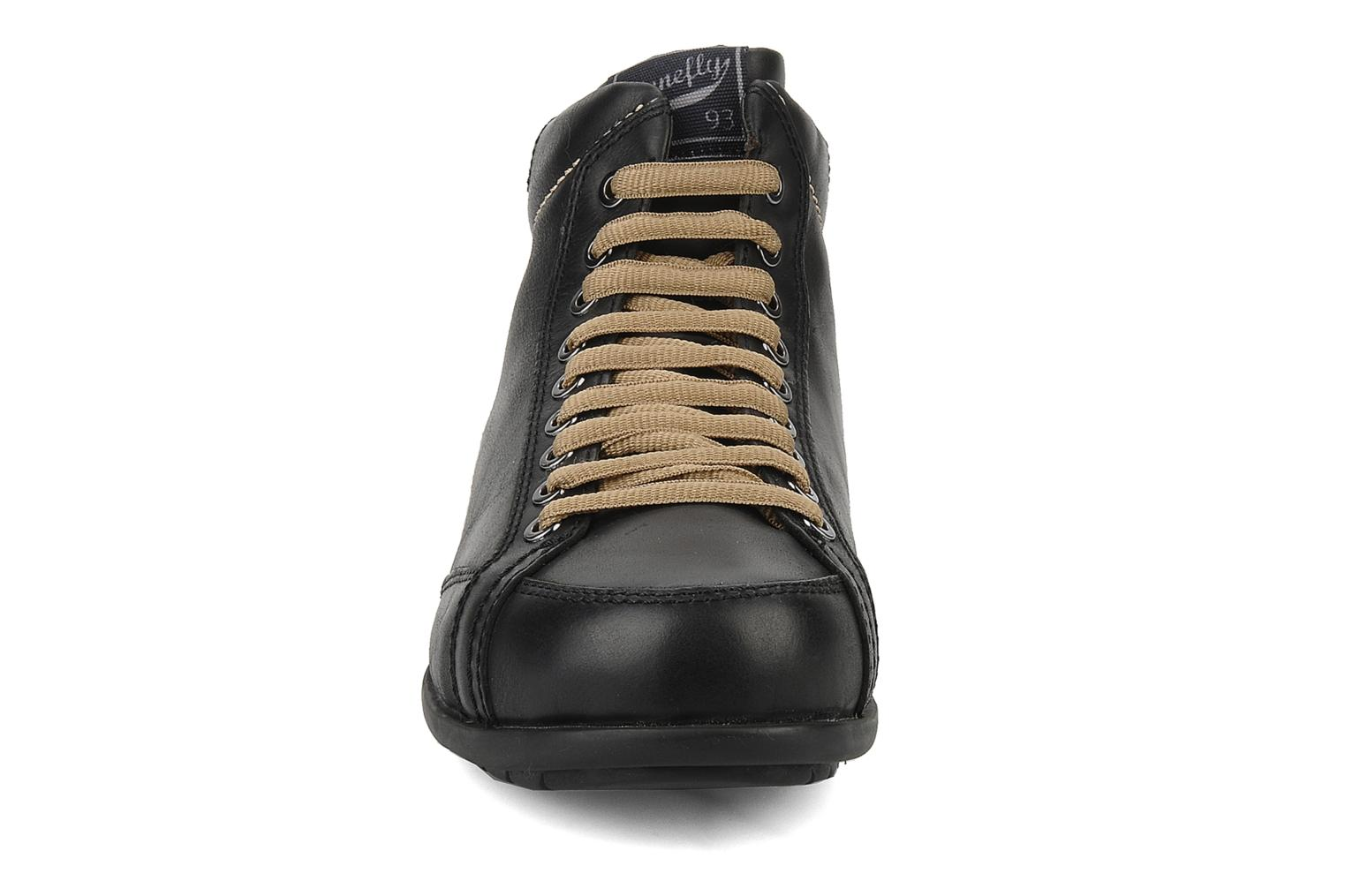 Ankle boots Stonefly Bomber 1 Black model view