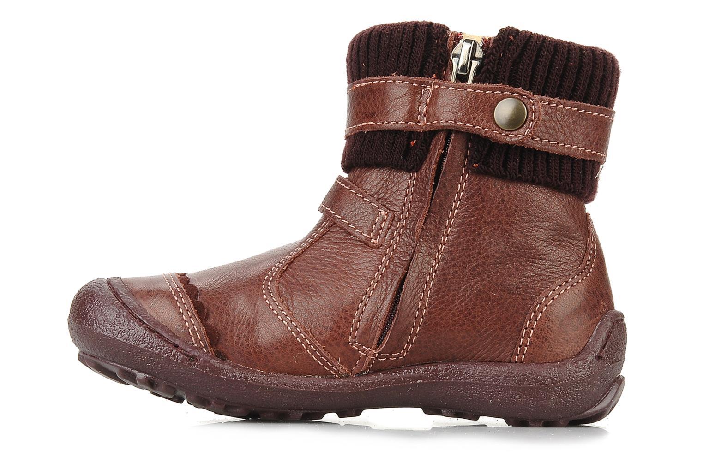 Bottines et boots Primigi Megha Bordeaux vue face