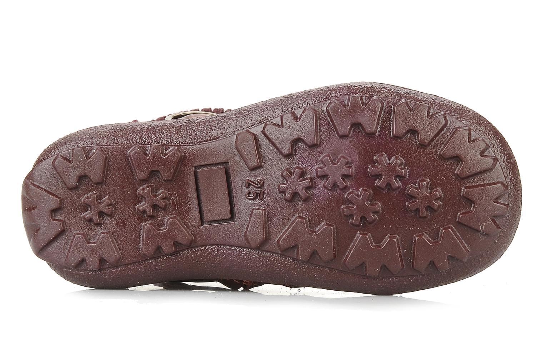Bottines et boots Primigi Megha Bordeaux vue haut