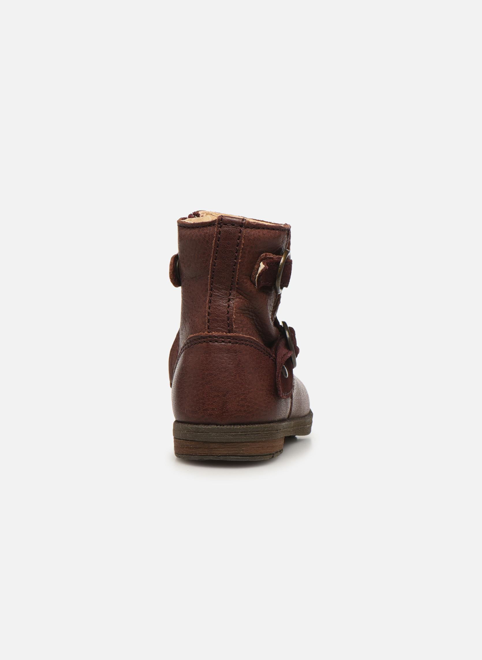 Bottines et boots Primigi Corinna Bordeaux vue droite