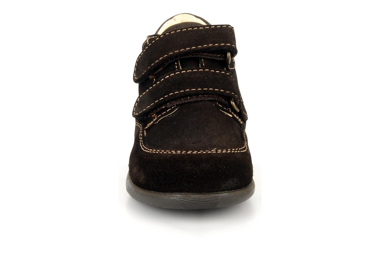 Chaussures à scratch Primigi Rusty Marron vue portées chaussures