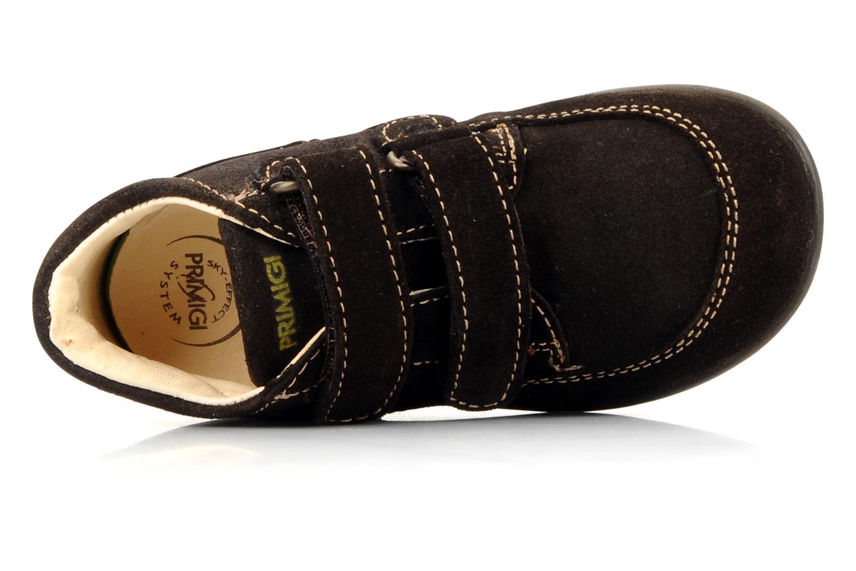 Chaussures à scratch Primigi Rusty Marron vue gauche