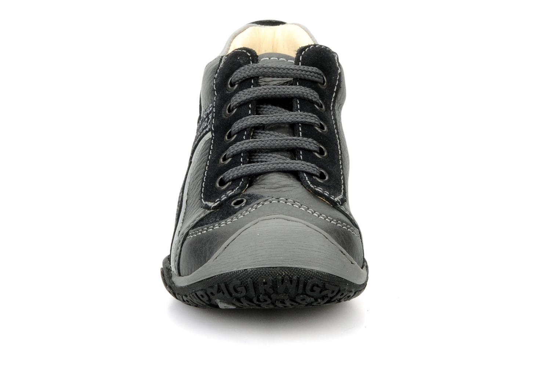 Baskets Primigi Gerolamo Gris vue portées chaussures