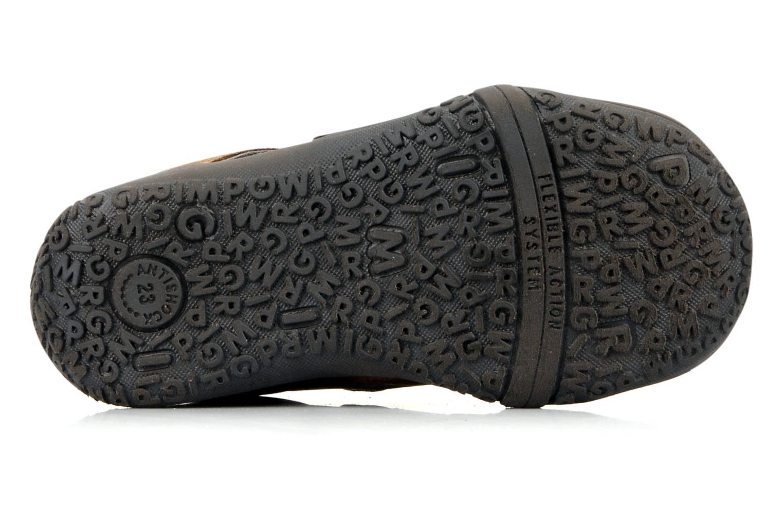 Zapatos con velcro Primigi Bartolom Marrón vista de arriba