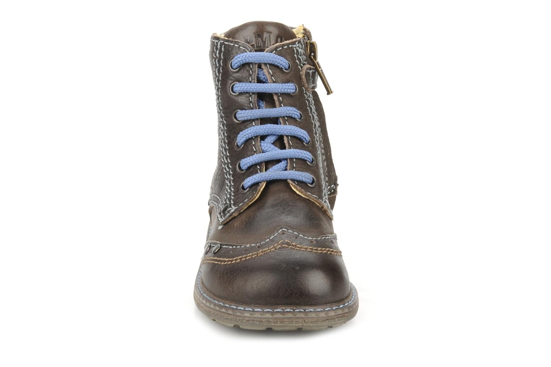 Ankle boots Primigi Lanfranco Brown model view