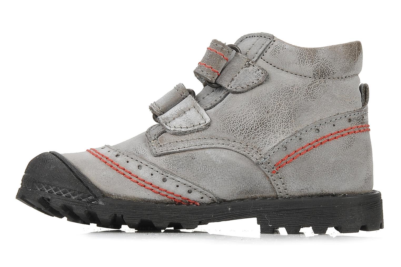 Velcro shoes Primigi Ashton Grey front view