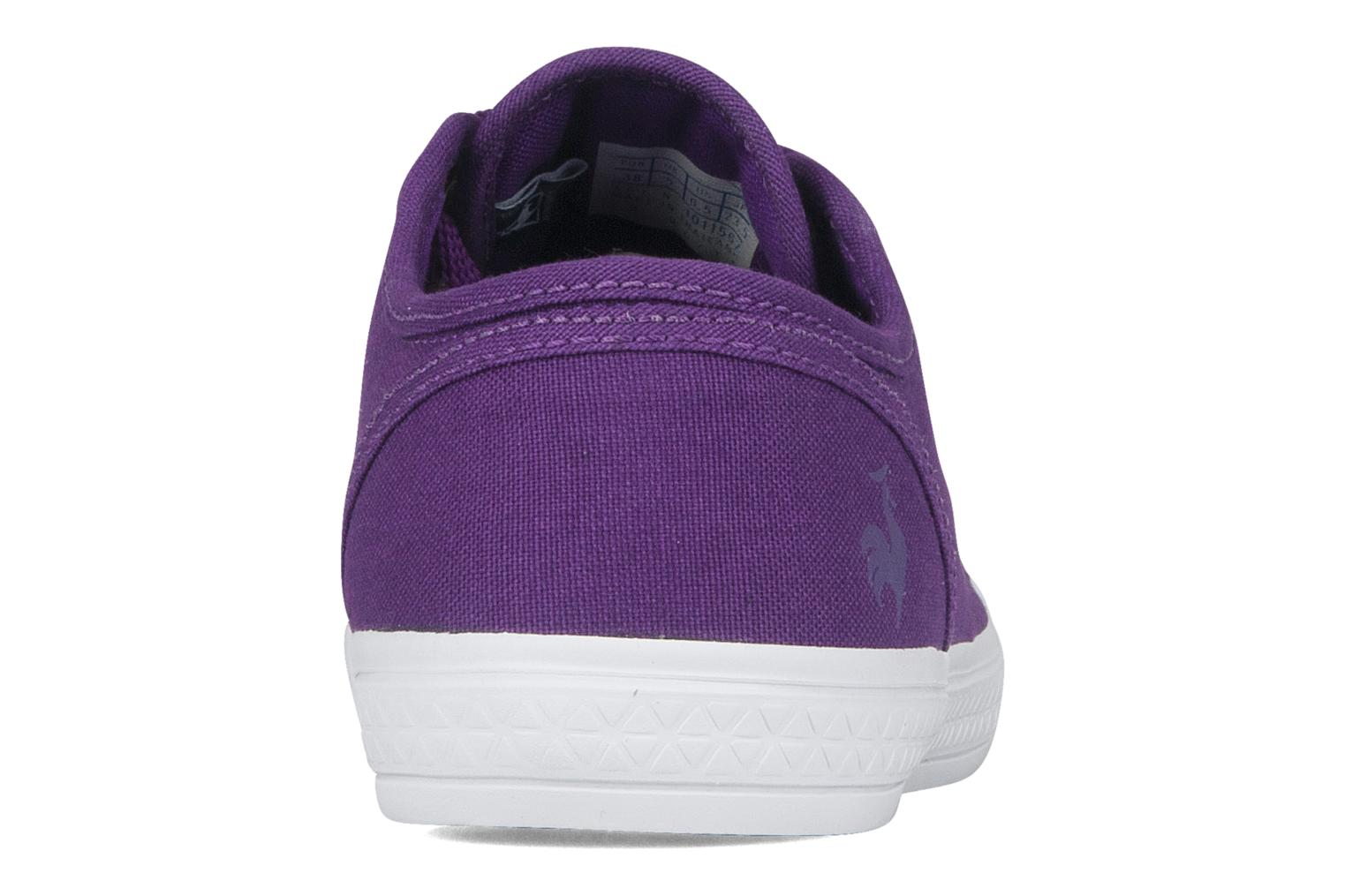 Sneakers Le Coq Sportif Deauville plus shaded Viola immagine destra