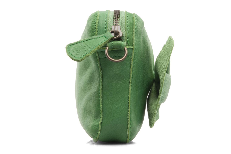 Pochette Pieces Pernille leather crossover Verde immagine destra