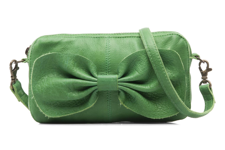 Pochette Pieces Pernille leather crossover Verde vedi dettaglio/paio