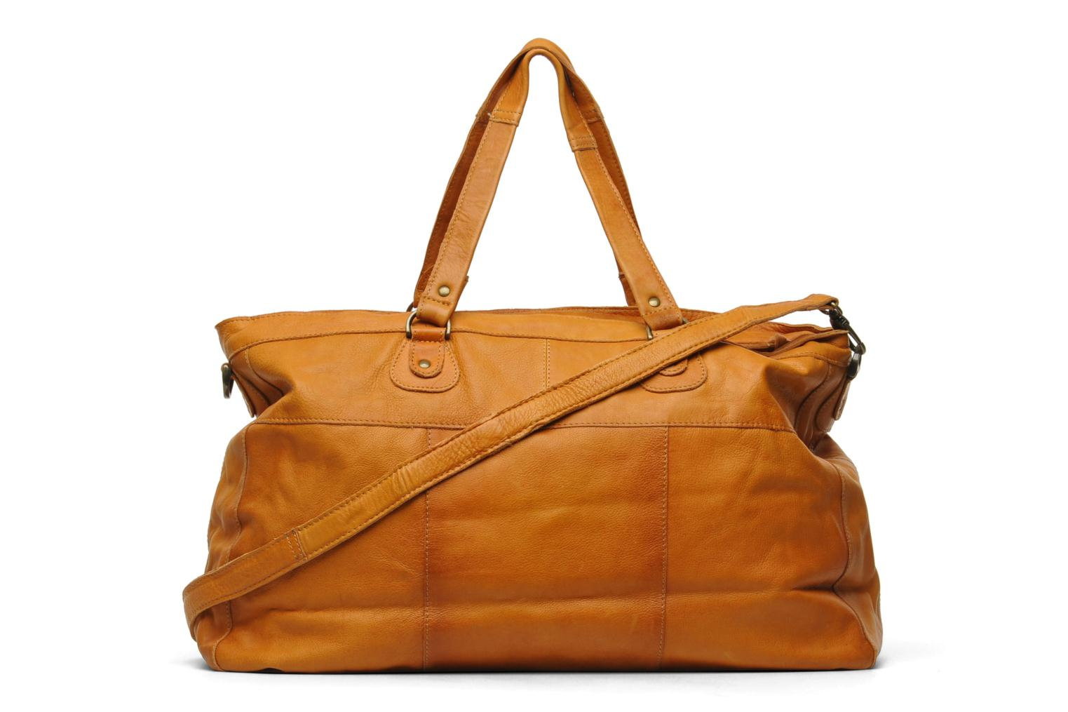 Totally Royal leather Travel bag Cognac