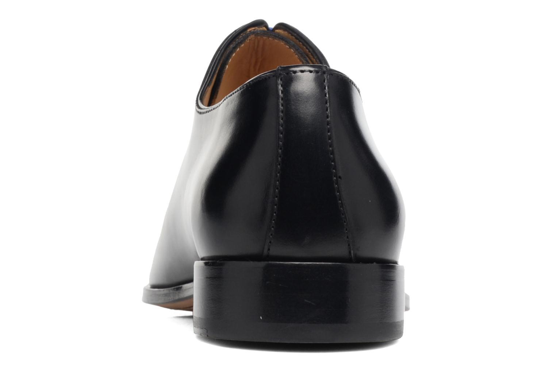 Zapatos con cordones Brett & Sons Côme Negro vista lateral derecha