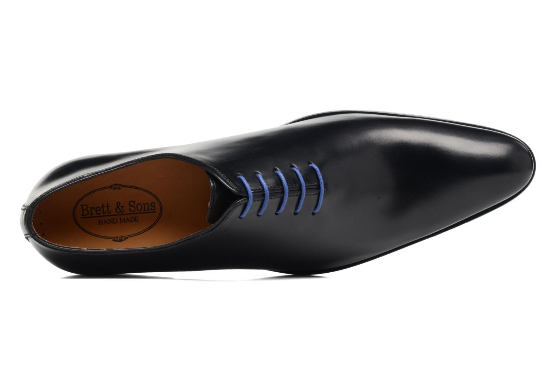 Chaussures à lacets Brett & Sons Côme Noir vue gauche