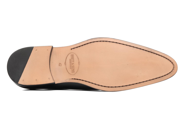 Chaussures à lacets Brett & Sons Côme Noir vue haut