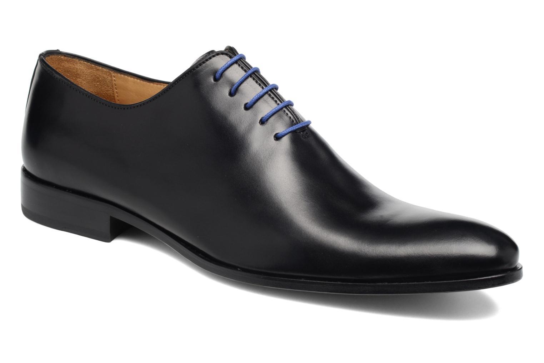 Zapatos con cordones Brett & Sons Côme Negro vista de detalle / par