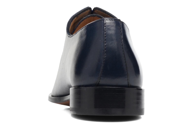 Zapatos con cordones Brett & Sons Côme Azul vista lateral derecha