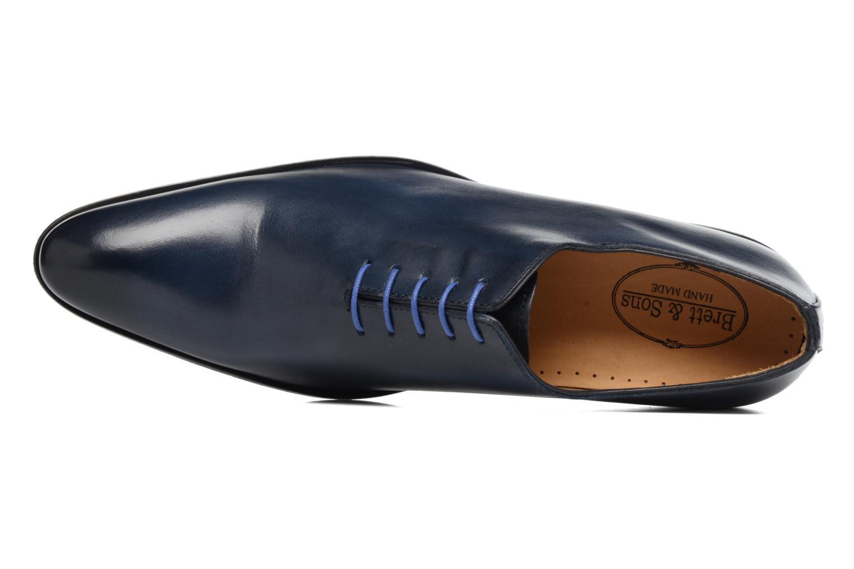 Zapatos con cordones Brett & Sons Côme Azul vista lateral izquierda