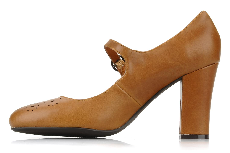 High heels Georgia Rose Yara Brown front view