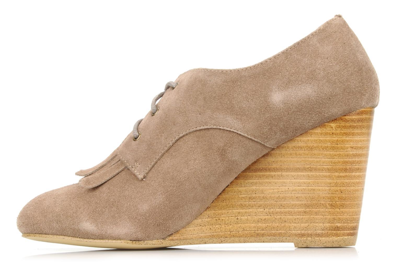 Chaussures à lacets Georgia Rose Azalea Beige vue face
