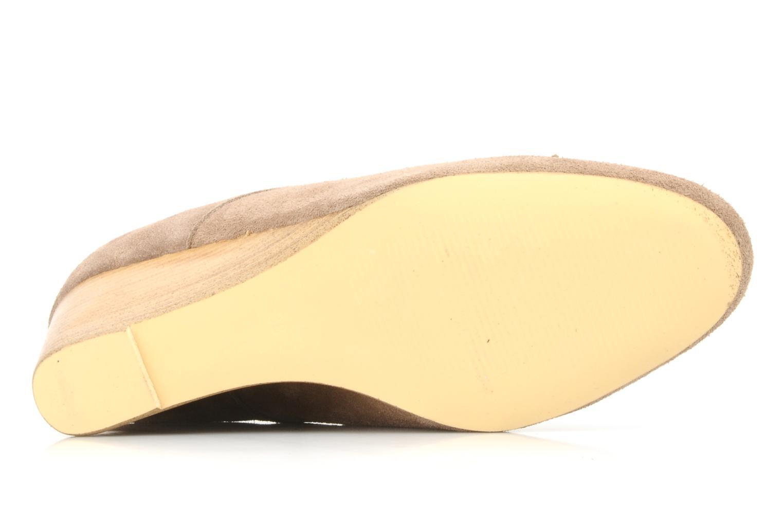 Chaussures à lacets Georgia Rose Azalea Beige vue haut