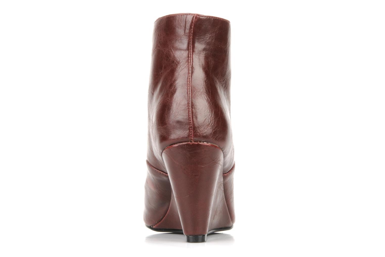 Bottines et boots Georgia Rose Nara Bordeaux vue droite
