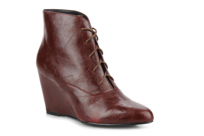 Bottines et boots Georgia Rose Nara Bordeaux vue détail/paire