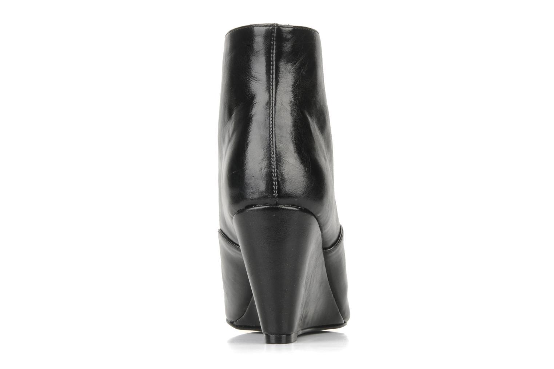 Bottines et boots Georgia Rose Nara Noir vue droite