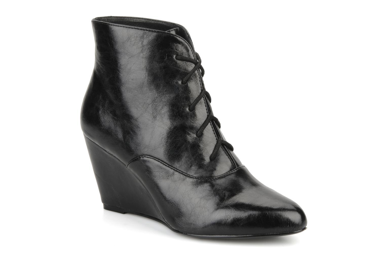 Boots en enkellaarsjes Georgia Rose Nara Zwart detail