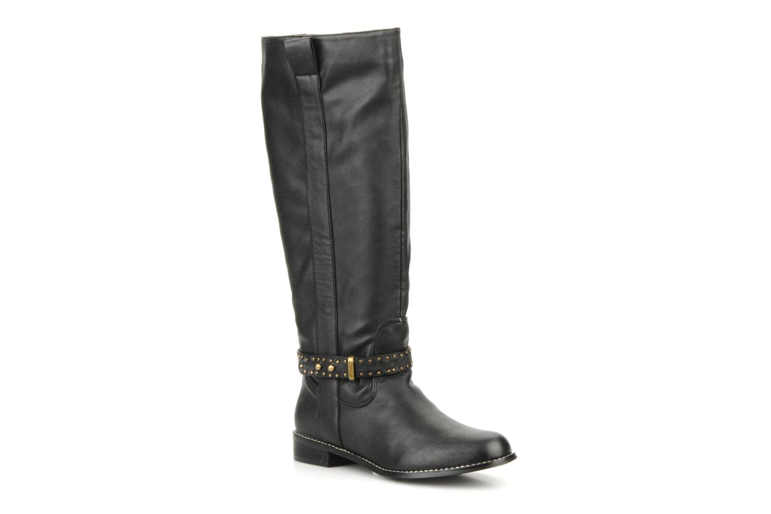 Boots & wellies Georgia Rose Noilith Black detailed view/ Pair view