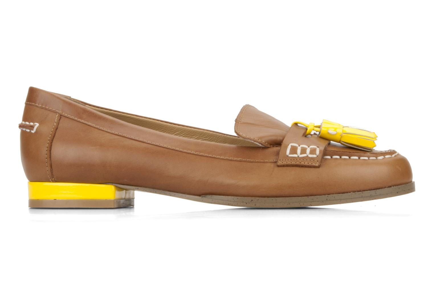 Loafers Mellow Yellow Kolage Brown back view