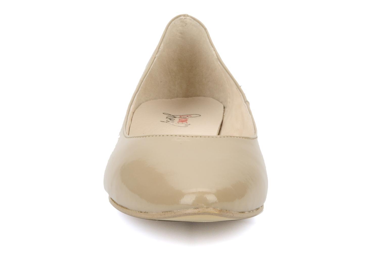 Ballerines I Love Shoes Mizaella Beige vue portées chaussures