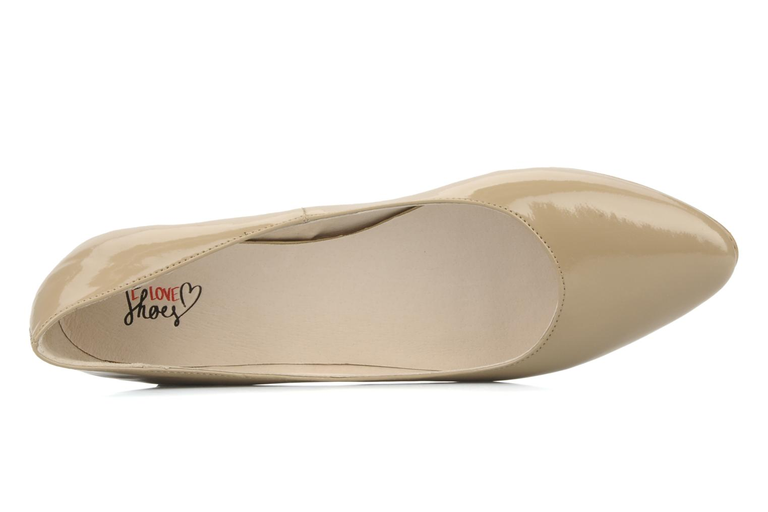 Ballet pumps I Love Shoes Mizaella Beige view from the left