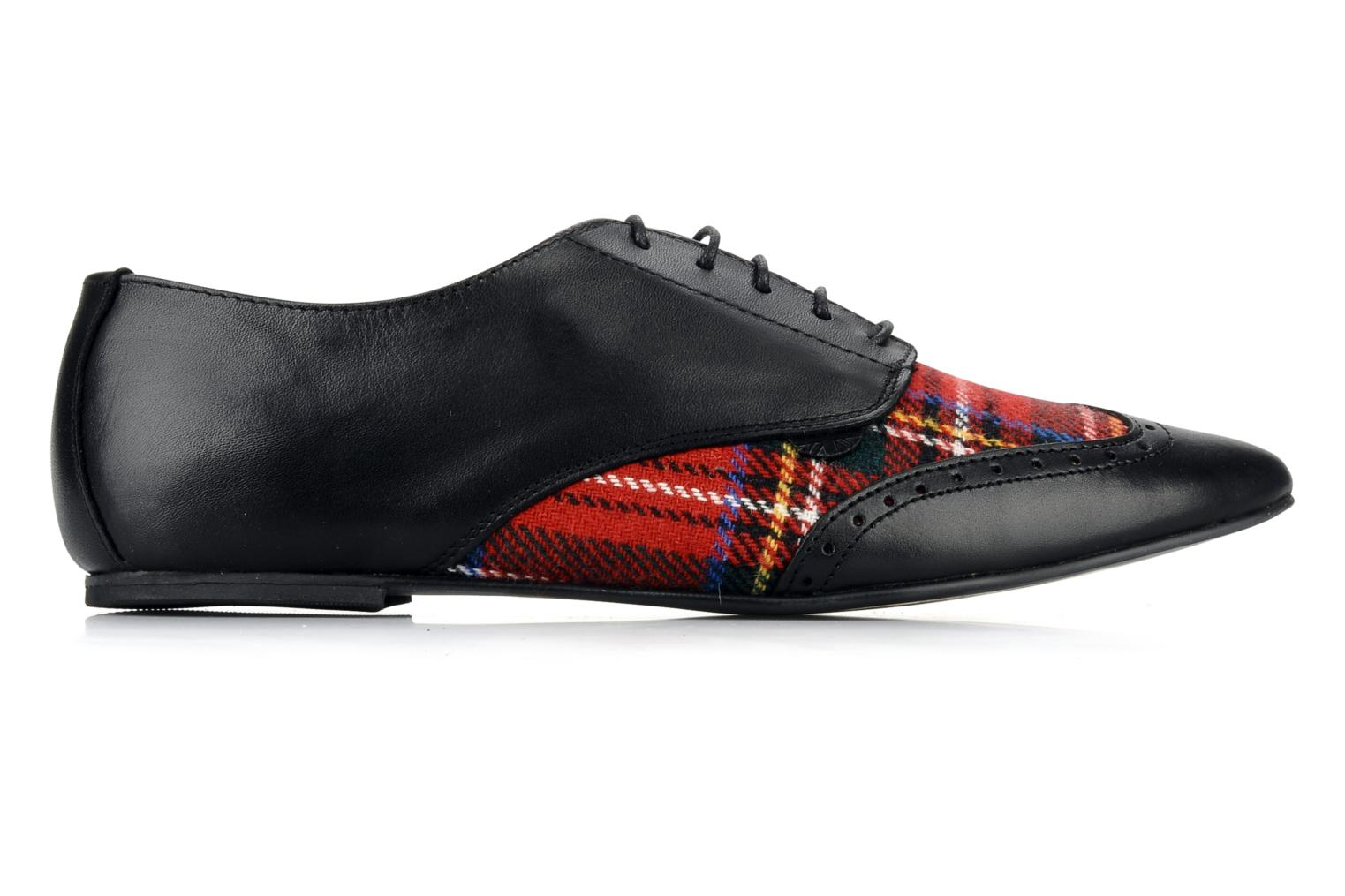 Lace-up shoes Underground Penny Black back view