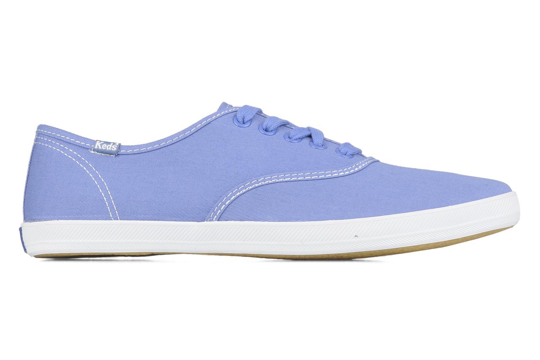 Sneaker Keds Champion washed canvas blau ansicht von hinten