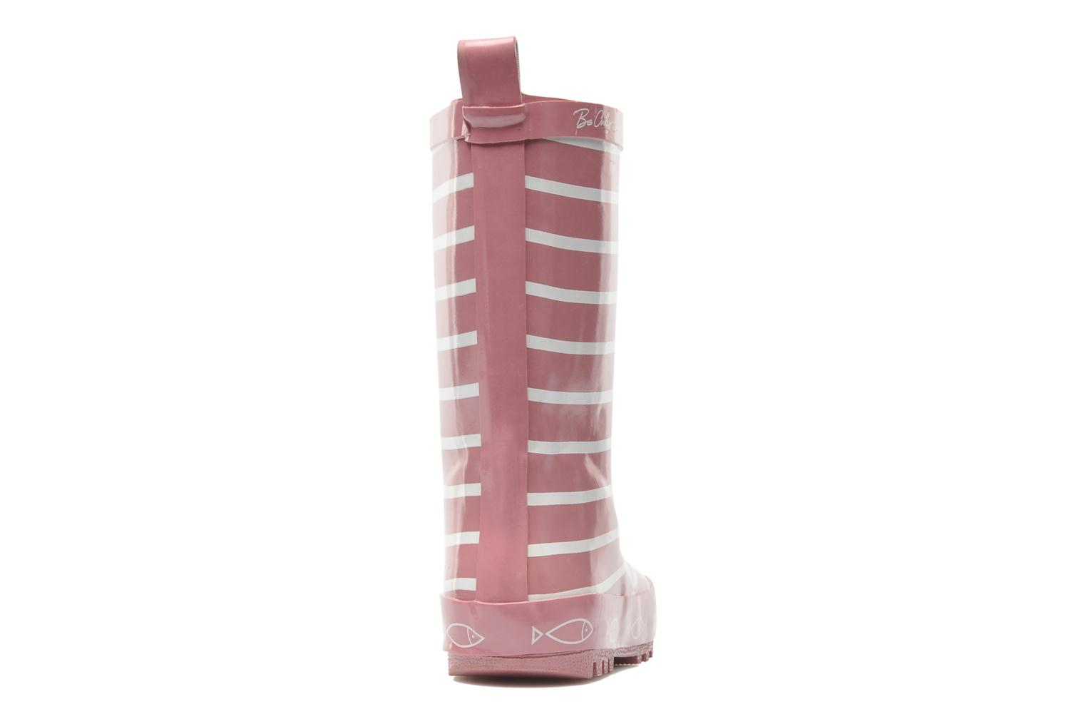 Bottes Be Only Timouss Rose vue droite