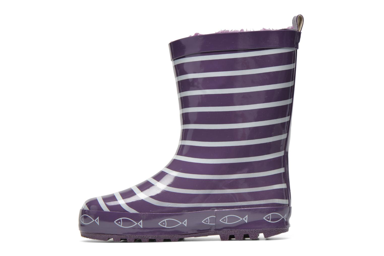 Bottes Be Only Timouss Violet vue face