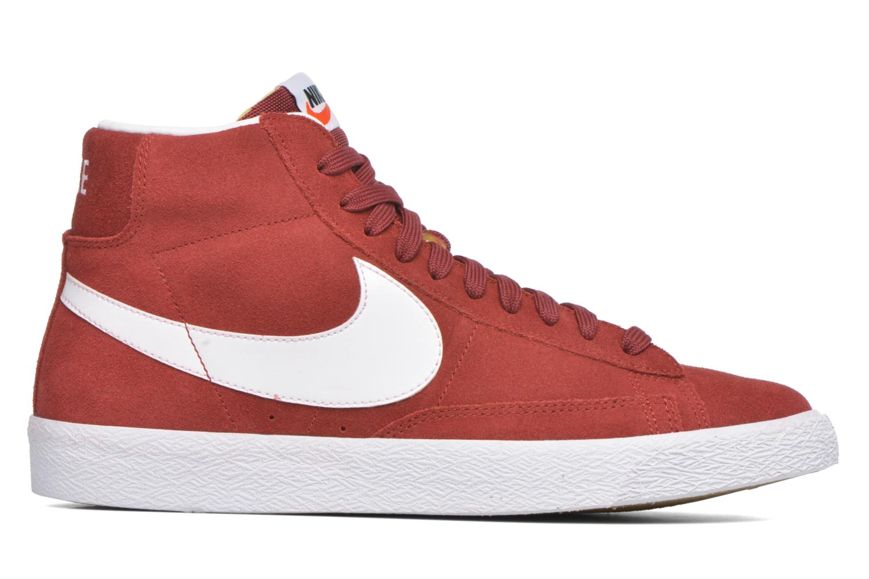 Sneakers Nike Blazer mid prm Rood achterkant