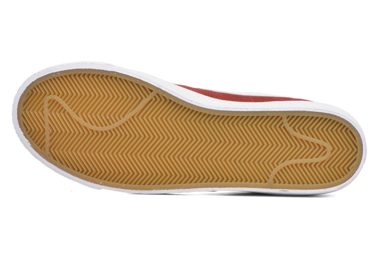 Sneakers Nike Blazer mid prm Rood boven