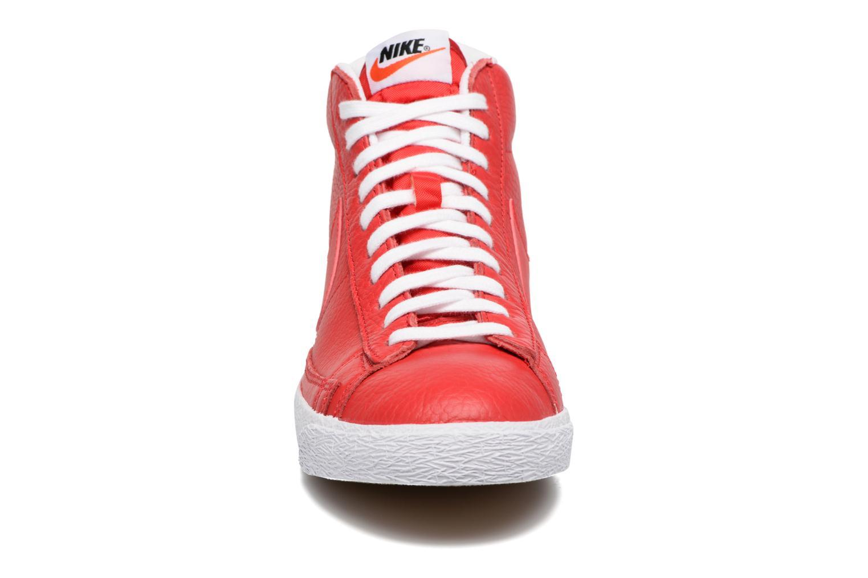 Sneaker Nike Blazer mid prm rot schuhe getragen