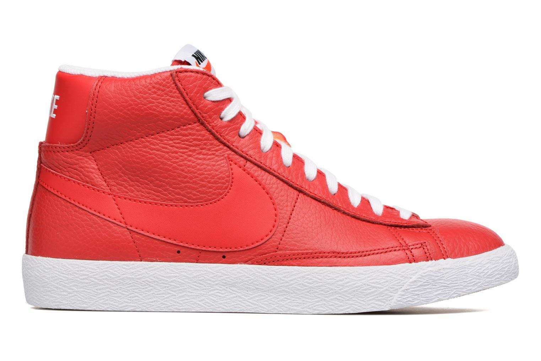 Baskets Nike Blazer mid prm Rouge vue derrière
