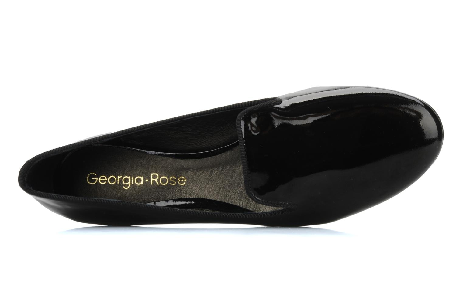 Loafers Georgia Rose Theadia Black view from the left